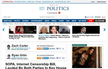 http://www.huffingtonpost.com/2011/11/16/sopa-internet-censorship-online-piracy-house-hearing_n_1098255.html