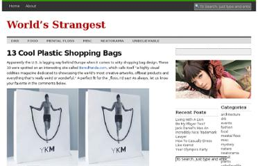 http://www.worldsstrangest.com/mental-floss/13-cool-plastic-shopping-bags/