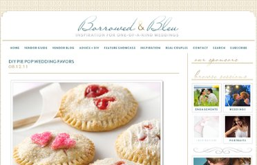 http://www.borrowedandbleu.com/advice-ideas/diy-pie-pop-wedding-favors/