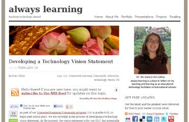 http://kimcofino.com/blog/2011/02/18/developing-a-technology-vision-statement/
