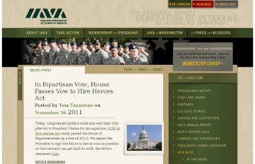 http://iava.org/blog/bipartisan-vote-house-passes-vow-hire-heroes-act