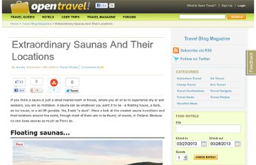 http://opentravel.com/blogs/extraordinary-saunas-and-their-locations/