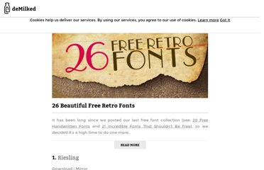 http://www.demilked.com/free-retro-fonts/