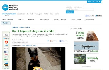 http://www.mnn.com/family/pets/stories/the-8-happiest-dogs-on-youtube#