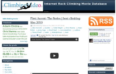 http://climbingvideo4u.com/movie/first-ascent-series-best-climbing-film-2010