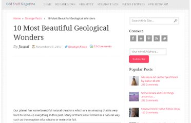 http://oddstuffmagazine.com/10-most-beautiful-geological-wonders.html