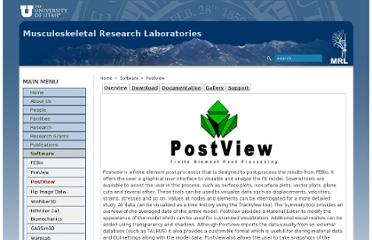 http://mrl.sci.utah.edu/software/postview