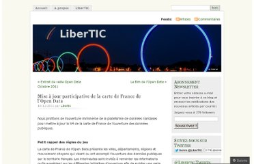 http://libertic.wordpress.com/2011/11/16/mise-a-jour-participative-de-la-carte-de-france-de-lopen-data/