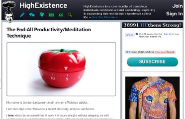 http://www.highexistence.com/end-all-productivity-meditation-technique/