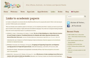 http://www.iautism.info/en/2011/04/09/links-to-academic-papers/