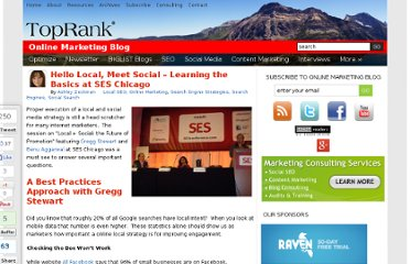 http://www.toprankblog.com/2011/11/local-social-media-marketing/