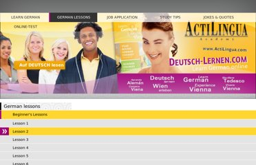 http://www.deutsch-lernen.com/learn-german-online/beginners/summary.php