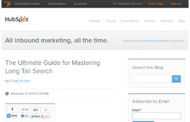 http://blog.hubspot.com/blog/tabid/6307/bid/28912/The-Ultimate-Guide-for-Mastering-Long-Tail-Search.aspx