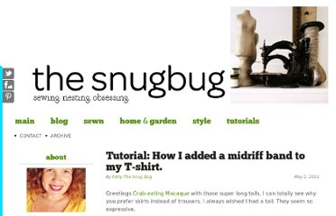 http://pattythesnugbug.com/2011/tutorial-how-i-added-midriff-band-to-my/