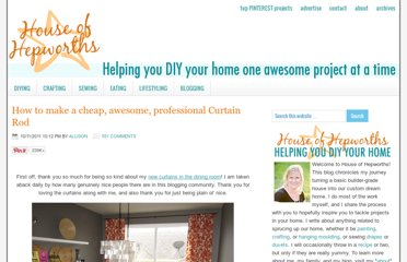 http://www.houseofhepworths.com/2011/10/11/how-to-make-a-cheap-awesome-professional-curtain-rod/