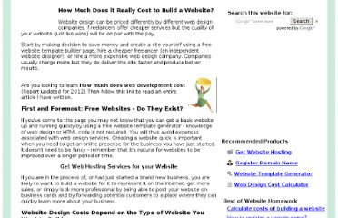 http://www.websitehomework.com/how-much-does-it-cost-to-make-a-website.html