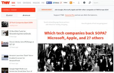 http://thenextweb.com/insider/2011/11/17/which-tech-companies-back-sopa-microsoft-apple-and-27-others/