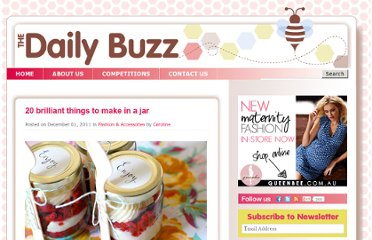 http://www.thedailybuzz.com.au/2011/11/20-things-to-make-in-a-jar/index.html
