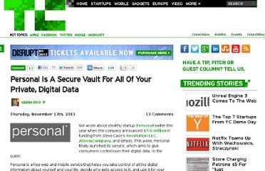 http://techcrunch.com/2011/11/17/personal-is-a-secure-vault-for-all-of-your-private-digital-data/