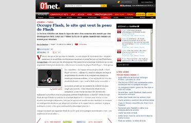 http://www.01net.com/editorial/546692/occupy-flash-le-site-qui-veut-la-peau-de-flash/