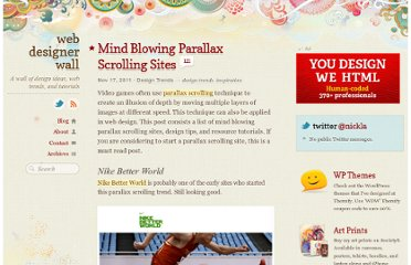 http://webdesignerwall.com/trends/mind-blowing-parallax-scrolling-sites