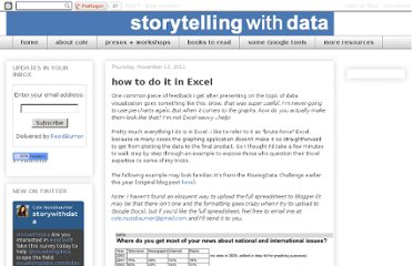http://www.storytellingwithdata.com/2011/11/how-to-do-it-in-excel.html