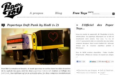 http://www.paper-toy.fr/2011/10/14/papertoys-daft-punk-by-hadi/