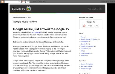 http://googletv.blogspot.com/2011/11/google-music-just-arrived-to-google-tv.html