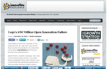 http://www.innovationexcellence.com/blog/2011/11/18/legos-50-million-open-innovation-failure/