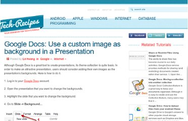 http://www.tech-recipes.com/rx/18986/google-docs-use-a-custom-image-as-background-in-a-presentation/