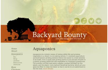 http://www.backyardbountycollective.com/aquaponics.html
