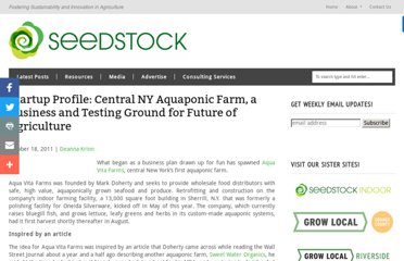 http://seedstock.com/2011/10/18/central-new-york-aquaponic-aqua-vita-farms-startup-profile/