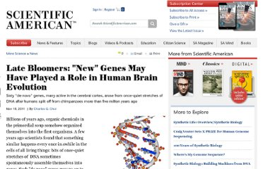 http://www.scientificamerican.com/article.cfm?id=late-bloomers-new-genes-may-have-played