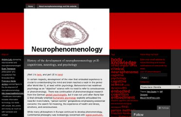 http://neurophenomenology.wordpress.com/category/francisco-varela/