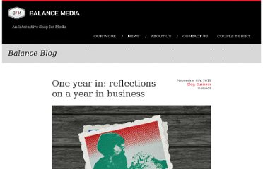 http://www.builtbybalance.com/2011/11/04/we-are-one-reflections-on-a-year-in-business/