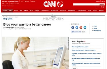 http://www.cnn.com/2011/11/14/living/blogging-career/index.html?iphoneemail