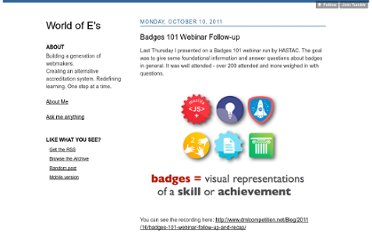 http://erinknight.com/post/11285208799/badges-101-webinar-follow-up