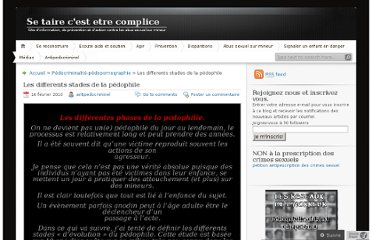 http://antipedocriminel.wordpress.com/2010/02/16/les-differents-stades-de-la-pedophile/