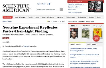 http://www.scientificamerican.com/article.cfm?id=neutrino-experiment-replicates