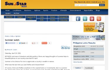 http://www.sunstar.com.ph/cebu/opinion/2011/04/16/sunstar-essay-summer-watch-150803