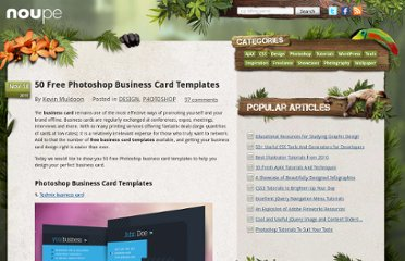 http://www.noupe.com/design/50-free-photoshop-business-card-templates.html