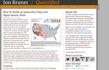 http://jebruner.com/2011/11/how-to-build-an-interactive-map-with-open-source-tools/