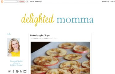 http://www.delightedmomma.com/2011/09/baked-apple-chips.html
