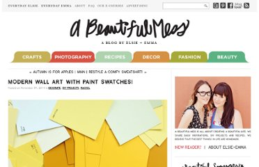 http://abeautifulmess.typepad.com/my_weblog/2011/11/modern-wall-art-with-paint-swatches.html