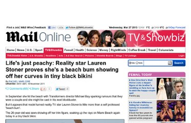 http://www.dailymail.co.uk/tvshowbiz/article-2063021/Reality-star-Lauren-Stoner-shows-beach-bum-tiny-black-bikini.html