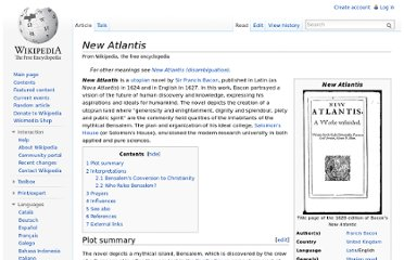 http://en.wikipedia.org/wiki/New_Atlantis