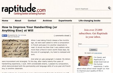 http://www.raptitude.com/2009/10/how-to-improve-your-handwriting-or-anything-else-at-will/
