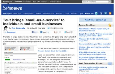 http://betanews.com/2011/11/14/tout-brings-email-as-a-service-to-individuals-and-small-businesses/