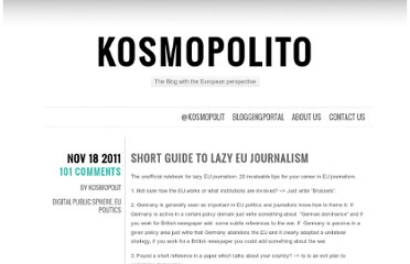 http://www.kosmopolito.org/2011/11/18/short-guide-to-lazy-eu-journalism/