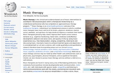http://en.wikipedia.org/wiki/Music_therapy